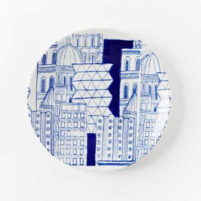 Collector's Editions Plates - Navy City - West Elm