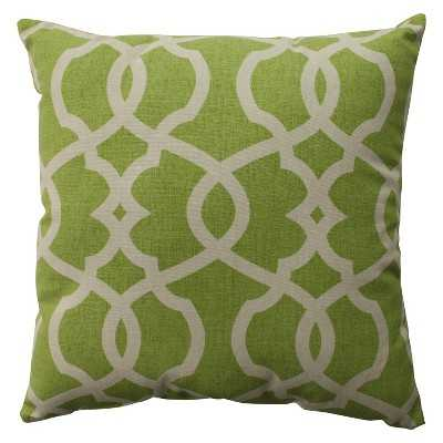 "Emory Toss Pillow Collection, Leaf - 18"" Sq. - Polyester Fill - Target"