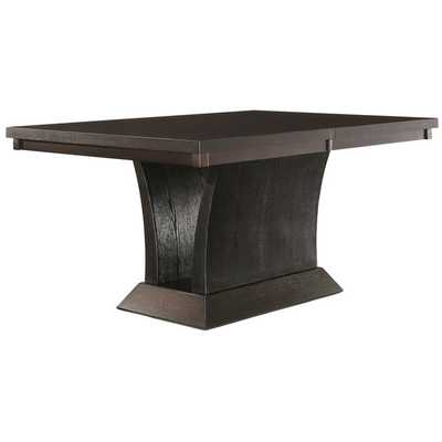 Charles Espresso Extending Dining Table - Overstock
