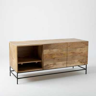 Industrial Storage Media Console – Large - West Elm