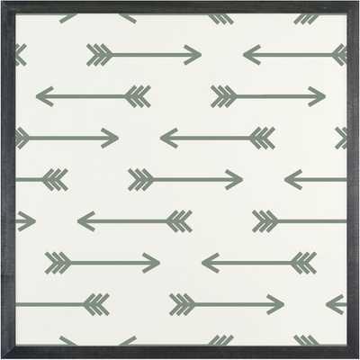 """Patterns Arrow Magnetic Board - 1' 4"""" H - AllModern"""