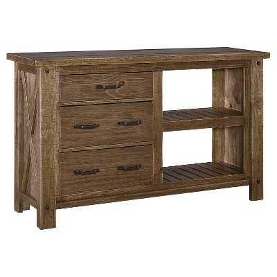 Tamilo Dining Room Server Wood/Gray/Brown - Signature Design by Ashley - Target