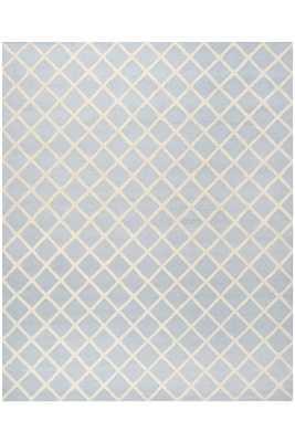Hemsworth Area Rug - Light Blue/Ivory - 8' x 10' - Home Decorators
