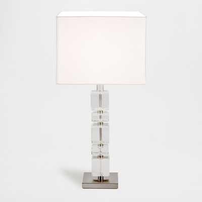 GLASS CUBES LAMP - Zara Home
