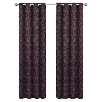"Payater Window Single Curtain Panel - 63"" - Wayfair"