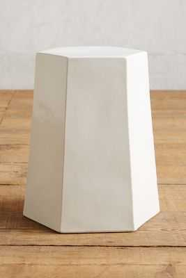 Calo Side Table -Hexagon seat - Anthropologie