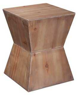 Lily Side Table, Natural - One Kings Lane