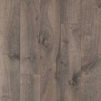 XP Southern Grey Oak Laminate Flooring - Home Depot