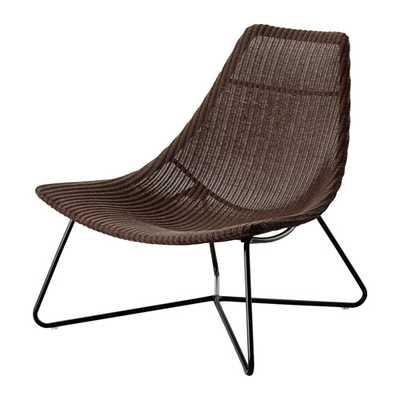RÃ…DVIKEN Chair, dark brown, black - Ikea