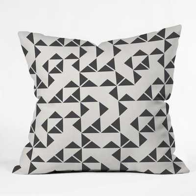 PINWHEELS Throw Pillow-20 x 20 with insert - Wander Print Co.