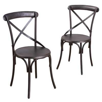 Bentmetal Bistro Chair (Set of 2) - Overstock