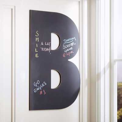 Taylor Chalk Letters - Letter D - Pottery Barn Teen