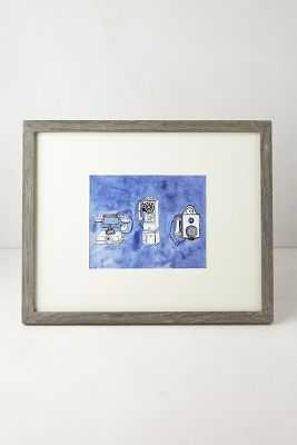 Minimalist Gallery Frame - Grey, 11x14 - Anthropologie