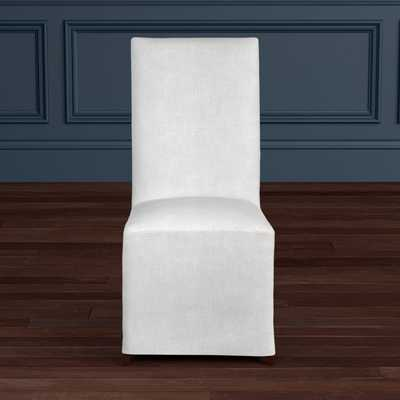 Belvedere Slipcovered Dining Side Chair, Quick Ship - Williams Sonoma