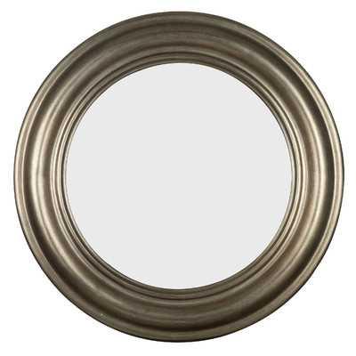 Nob Hill Round Wall Mirror - Wayfair