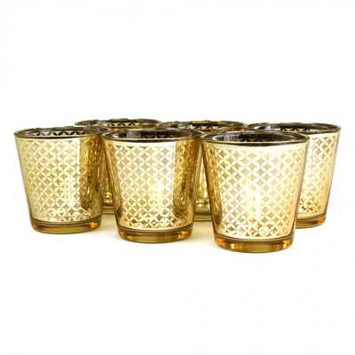 Lattice Glass Votive - Wayfair