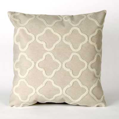 Visions II Crochet Tile Indoor/Outdoor Throw Pillowby Liora Manne - Wayfair