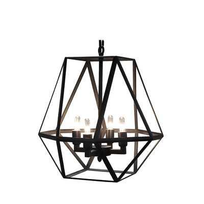 Diamond 4 Light Foyer Pendant, Small - Wayfair