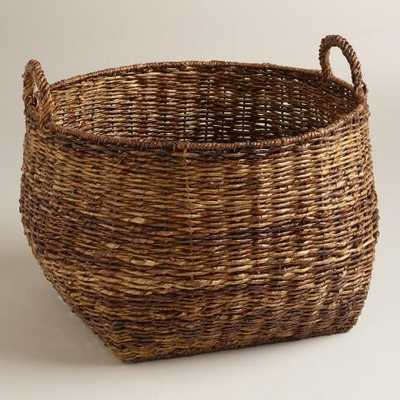 Round Madras Lorenzo Basket - World Market/Cost Plus