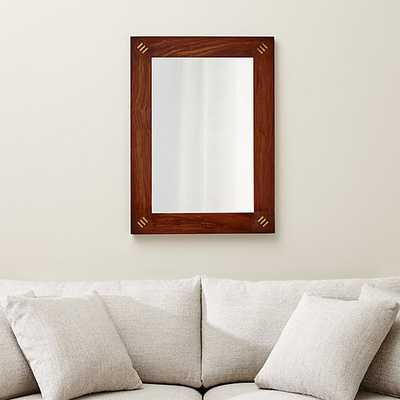 Chandrika Wall Mirror - Crate and Barrel