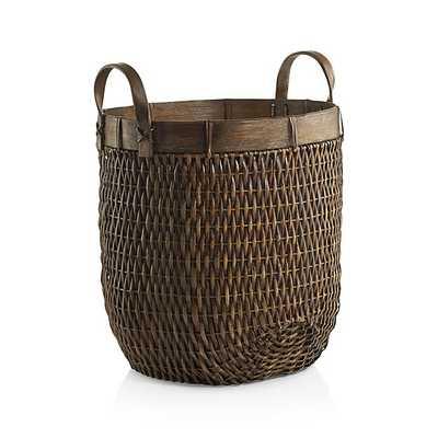 Halton Small Basket - Crate and Barrel