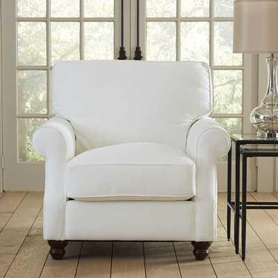 Huxley Chair - Wallace Midnight Paisley - Wayfair