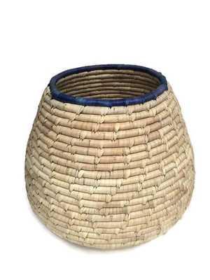 Vintage Woven Basket Cobra Style Tribal Home - Etsy