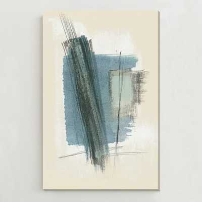 "Oversized Abstract Wall Art - 54"" x 84"" - Unframed - West Elm"