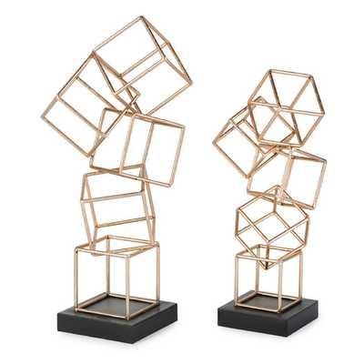 Lachlan Sculpture Set of 2 - AllModern