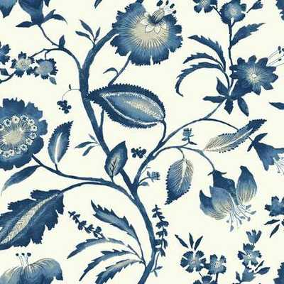 Watercolor Jacobean Wallpaper - York Wallcoverings