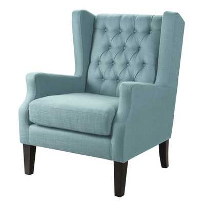 Maxwell Club Chair - Blue - Wayfair