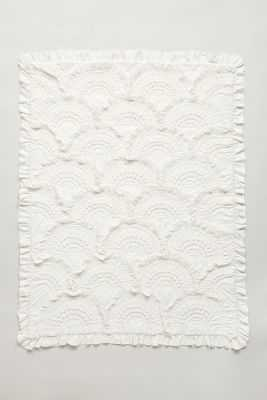 Rivulets Toddler Quilt-White - Anthropologie