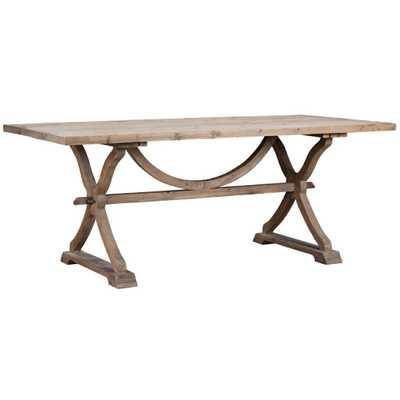 Pomerleau Dining Table - Natural Wax - Wayfair