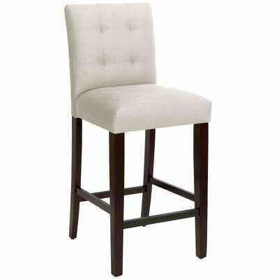 Dining Chair in Linen Talc - Third & Vine