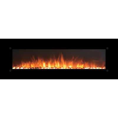 OnyxXL Electric Wall Mounted Electric Fireplace - Wayfair
