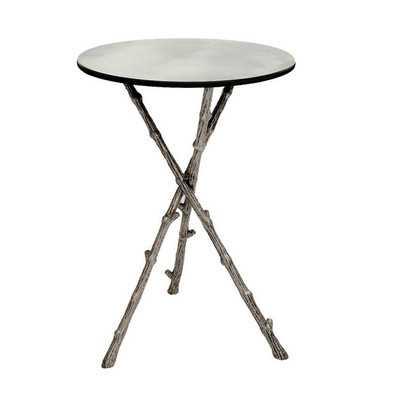 End Table - Silver - Wayfair