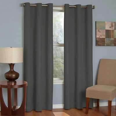 "Eclipse Thermaback Microfiber Grommet Blackout Window Panel- 63"" - Target"