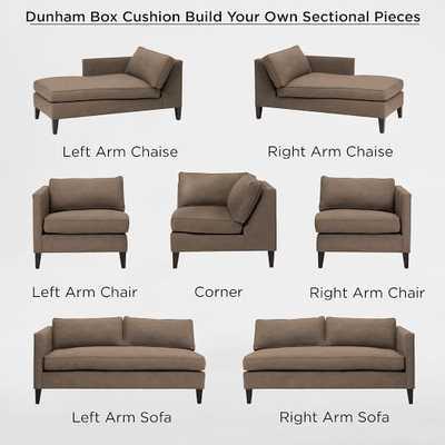 Left-Arm Sofa - West Elm