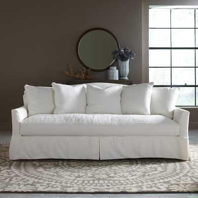 Fairchild Slipcovered Sofa - Watson Malt Blended Cotton - Birch Lane