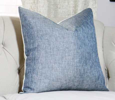 """Blue Pillow Cover - 14"""" x 22"""", No Insert - Etsy"""