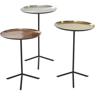 3-piece paola table set - CB2