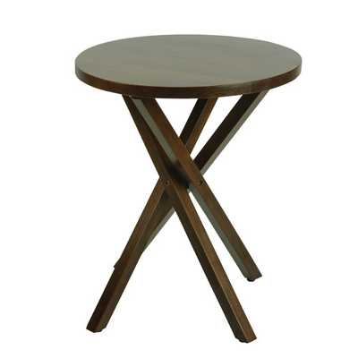 Criss Cross End Table I - AllModern