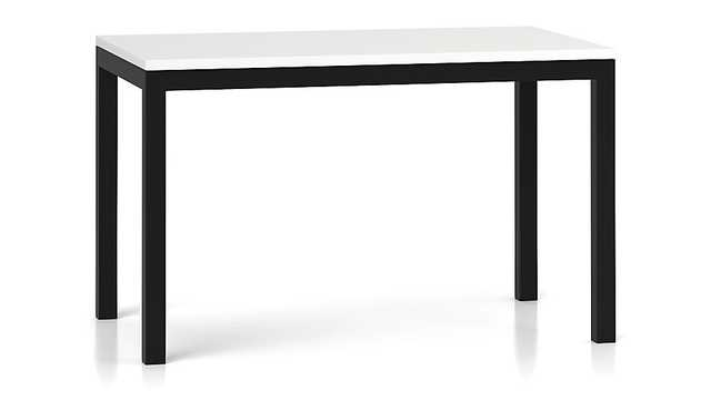 60x36 Parsons Dining Table - Crate and Barrel