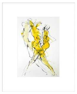 "Bella Pieroni, Sirens I - 33"" x 25"" - Framed (off-white) - One Kings Lane"
