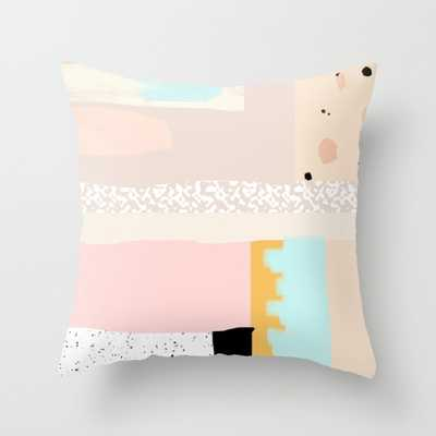 """THROW PILLOW/ INDOOR COVER (16"""" X 16""""), insert - Society6"""
