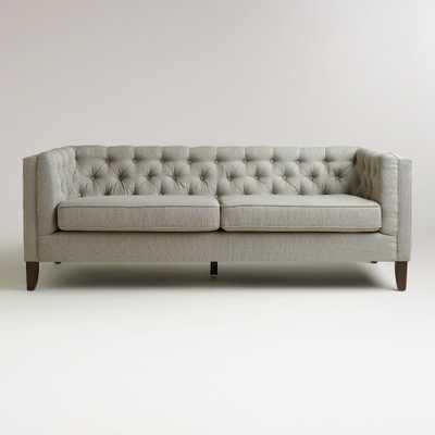 Fog Gray Kendall Sofa - World Market/Cost Plus