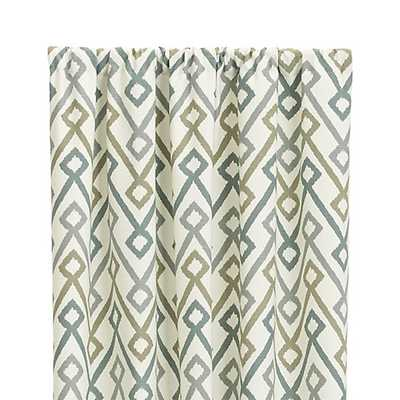 """Maddox 50""""x108"""" Curtain Panel - Crate and Barrel"""