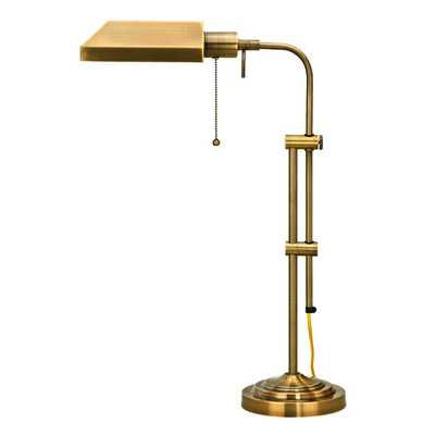 "Pharmacy 26"" H Table Lamp with Novelty Shade - AllModern"