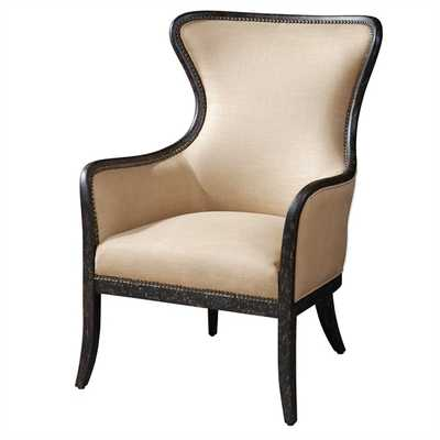 Zander, Wing Chair - Hudsonhill Foundry
