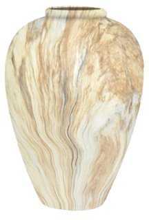 Marbleized Vase - One Kings Lane